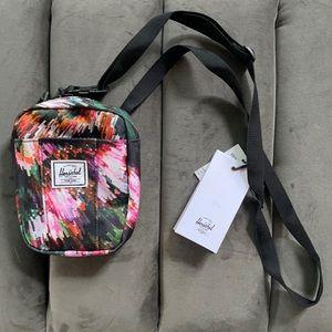 Herschel Supply Co Cruz crossbody bag pixel floral